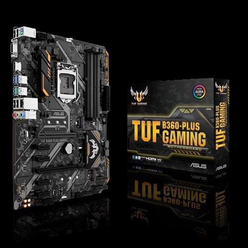 Płyta Asus TUF B360-PLUS GAMING /B360/DDR4/SATA3/M.2/USB3.0/PCIe3.0/s.1151/ATX