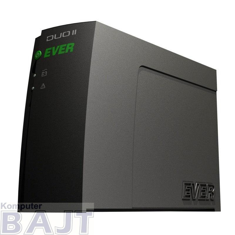 Zasilacz awaryjny UPS Ever Off-Line Duo II Pro 1000VA 4xIEC USB LED Bl