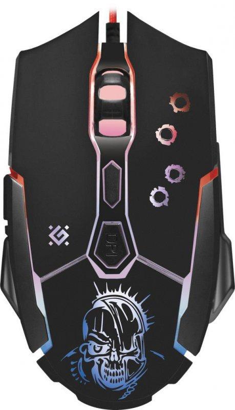 Mysz przewodowa Defender KILLER GM-170L 3200dpi 6P + podkładka Gaming + GRA