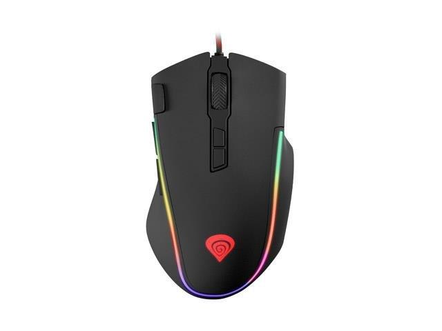 Mysz przewodowa Genesis Krypton 700 optyczna Gaming 7200DPI czarna