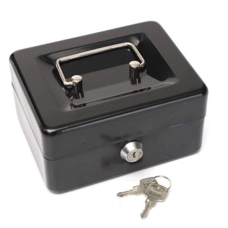 Sejf kasetka IBOX ISNK-04BOXSMALL (152mm x 115mm x 80 mm)