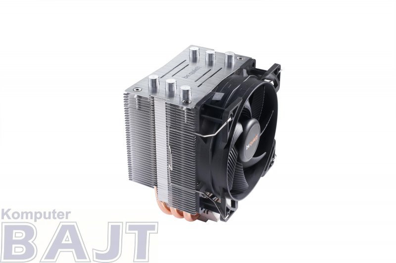 Chłodzenie procesora do komputera BE QUIET! Pure Rock Slim BK008 (AM2+, AM3+, AM4, FM1, FM2+, LGA 1150, LGA 1151, LGA 1155, LGA