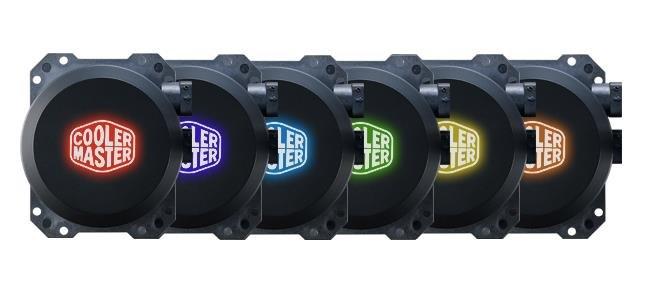 Chłodzenie wodne Cooler Master MLW-D24M-A20PC-R1 (2 wentylatory x 120 mm; RGB)