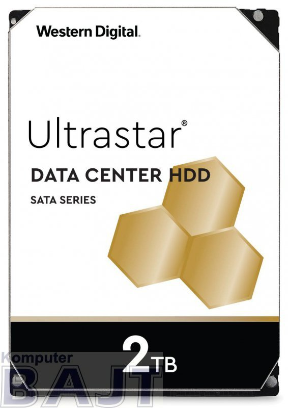 """Dysk serwerowy HDD Western Digital Ultrastar DC HA210 (7K2) HUS722T2TALA604 (2 TB; 3.5""""; SATA III)"""