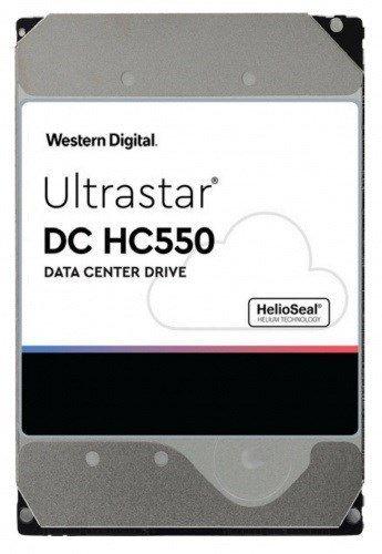 """Dysk serwerowy HDD Western Digital Ultrastar DC HC550 WUH721816AL5204 (16 TB; 3.5""""; SAS)"""