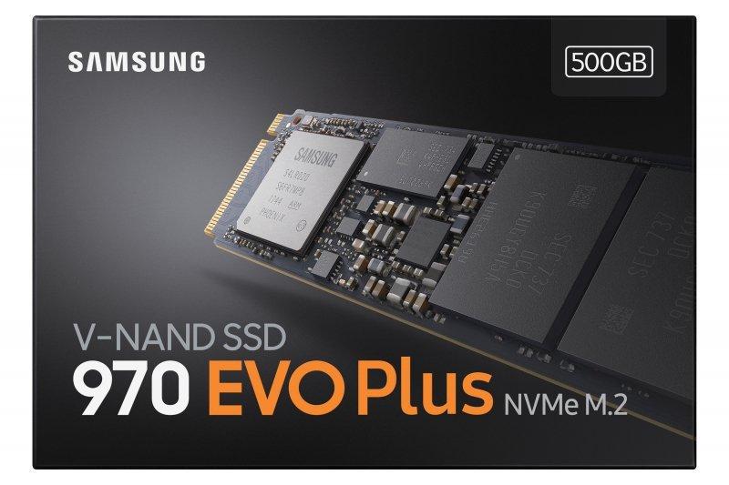 Dysk Samsung 970 EVO Plus MZ-V7S500BW (500 GB ; M.2; PCIe NVMe 3.0 x4)