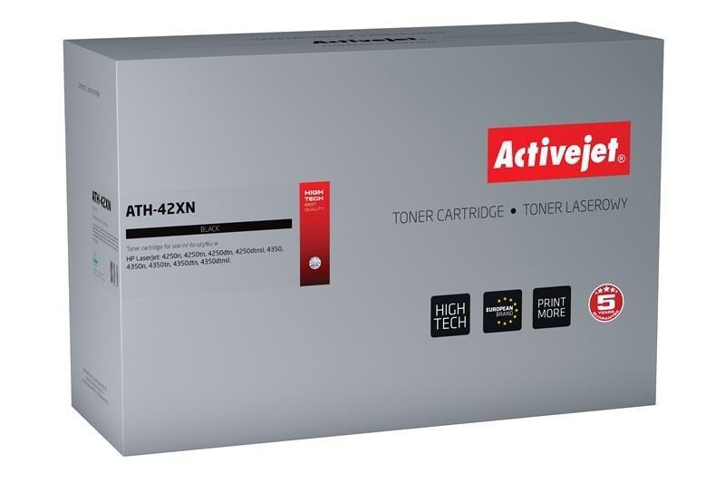 Toner Activejet ATH-42XN (zamiennik HP 42X Q5942X; Premium; 20000 stron; czarny)