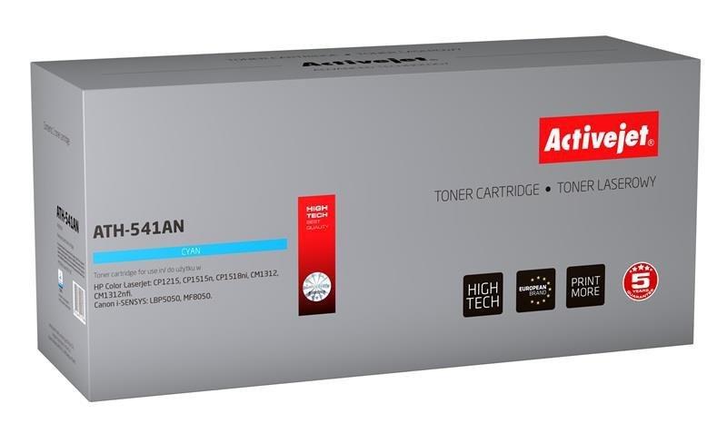 Toner Activejet ATH-541AN (zamiennik HP 125A CB541A, Canon CRG-716C; Premium; 1400 stron; niebieski)