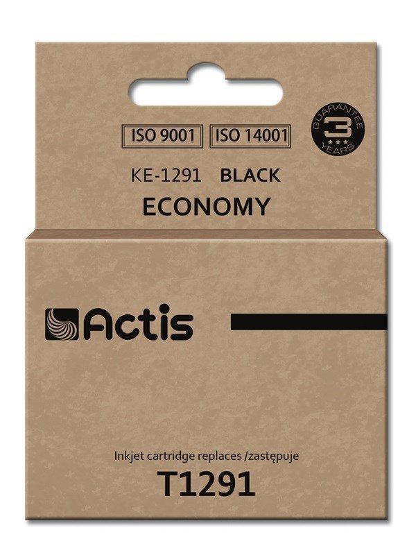 Tusz ACTIS KE-1291 (zamiennik Epson T1291; Standard; 18 ml; czarny)
