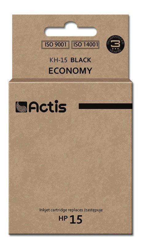 Tusz ACTIS KH-15 (zamiennik HP 15 C6615N; Standard; 44 ml; czarny)