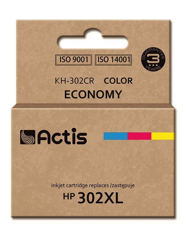 Tusz ACTIS KH-302CR (zamiennik HP 302XL F6U67AE; Premium; 21 ml; kolor)