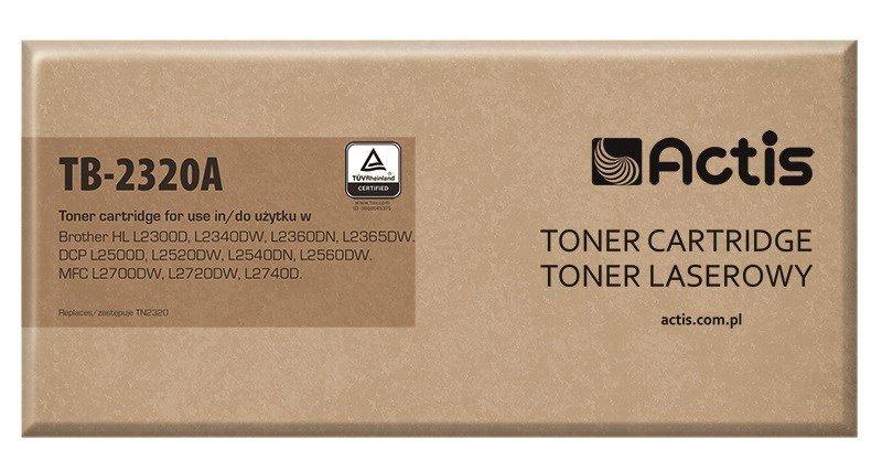 Toner ACTIS TB-2320A (zamiennik Brother TN-2320; Supreme; 2600 stron; czarny)