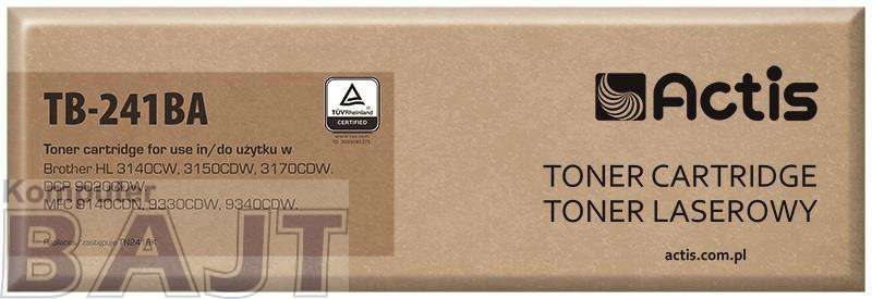 Toner ACTIS TB-241BA (zamiennik Brother TN-241BK; Supreme; 2200 stron; czarny)