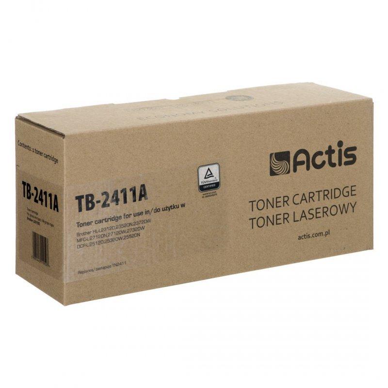 Toner ACTIS TB-2411A (zamiennik Brother TN-2411; Standard; 1200 stron; czarny)