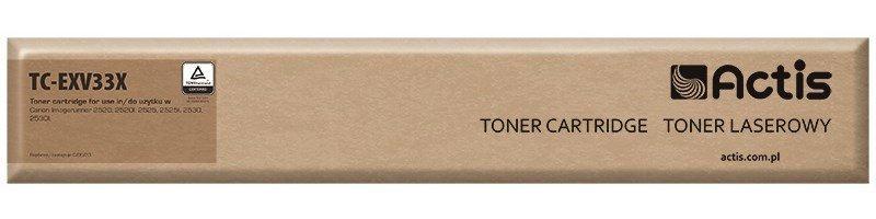 Toner ACTIS TC-EXV33X (zamiennik Canon C-EXV33; 14600 stron; czarny)