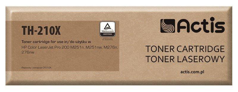 Toner ACTIS TH-210X (zamiennik HP 131X CF210X, Canon CRG-731BH; Standard; 2400 stron; czarny)