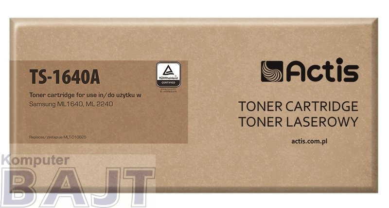 Toner ACTIS TS-1640A (zamiennik Samsung MLT-D1082S; Standard; 1500 stron; czarny)