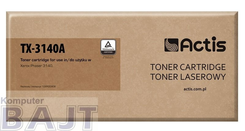 Toner ACTIS TX-3140A (zamiennik Xerox 108R00908; Standard; 1500 stron; czarny)