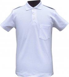 koszulka mundurowa typu polo krótki rękaw