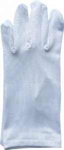 rękawiczki koloru białego