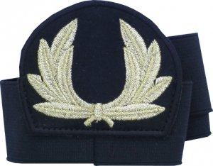 emblemat z otokiem do czapki wieniec (nr 5)