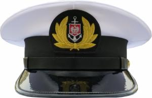czapka oficera Marynarka Handlowa