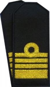 pagony na koszulo-bluzę MW tzw. miniaturki komandor