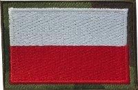 emblemat flaga haftowana