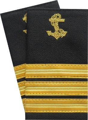 pagony pierwszego oficera pokładowego, chief's epaulettes