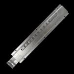 Zasuwka zamknięcie wylotka ocynk 45X250mm
