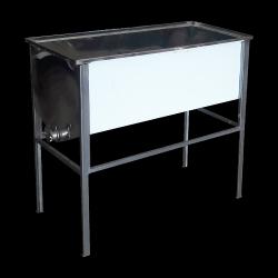 Stół do odsklepiania - 1,5m (Stal kwasoodporna/0,6mm)