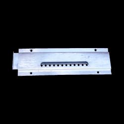 Zamknięcie wylotka 3 elementowe małe  45X145mm ocynk
