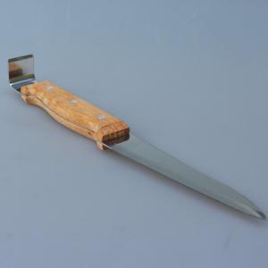 Dłuto pasieczne z ostrzem - 300mm (nierdzewne)