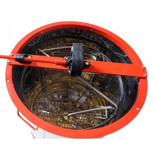 Miodarka 2-kasetowa z napędem ręcznym w zestawie podstawa i pokrywa. Atest PZH