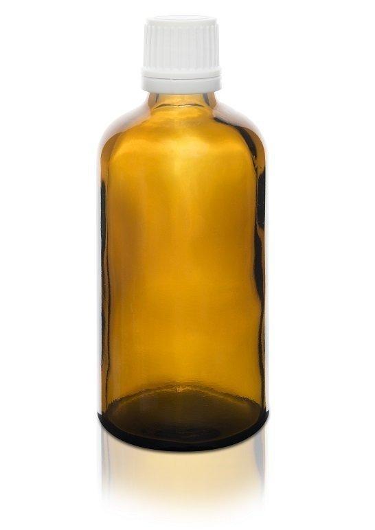 Butelka szklana z kroplomierzem (100ml)