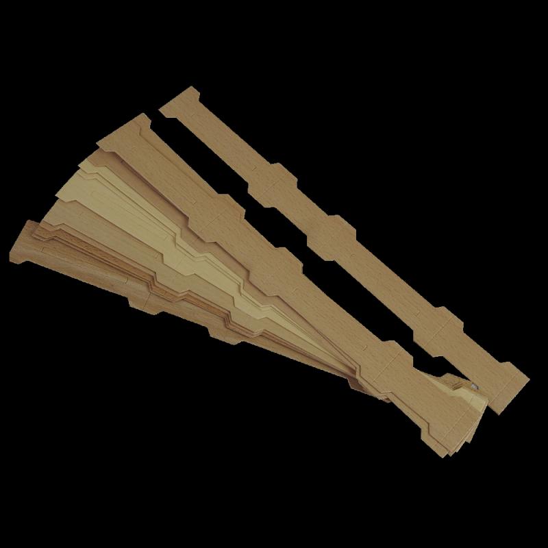 Mini ramka do miodu sekcyjnego pod ramkę Dadant