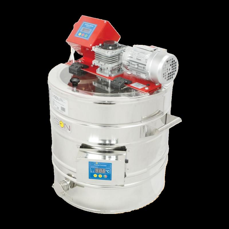 Urządzenie do kremowania miodu 150 L (400V) z płaszczem grzewczym (na dekrystalizatorze), ze sterownikiem automatycznym