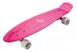 Deskorolka Fiszka 70cm - Deckboard 201 różowy
