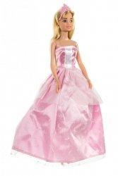 Lalka Anlily - Zimowa Księżniczka - suknia różowa
