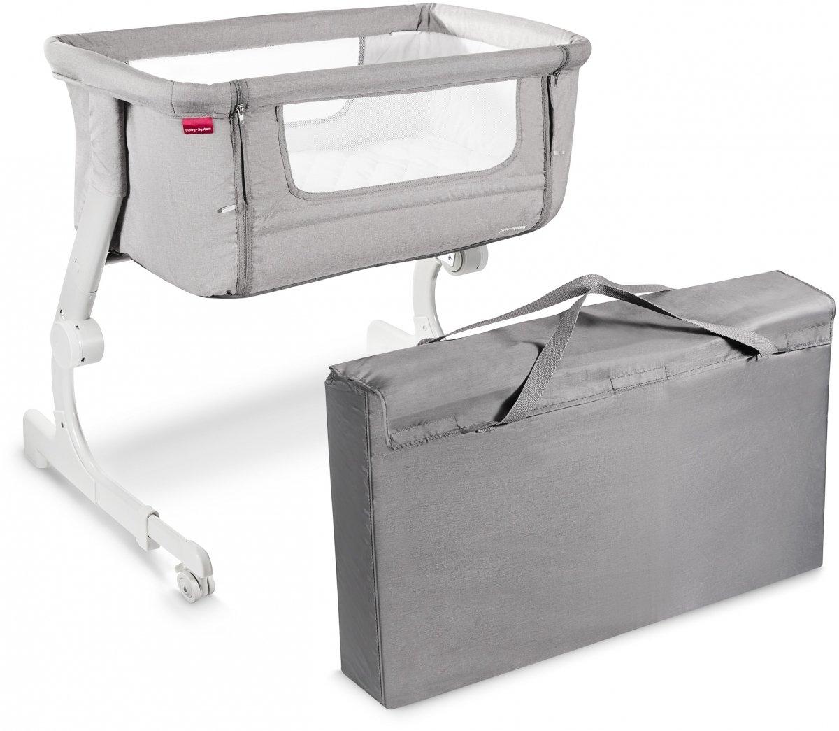 Łóżeczko 2w1 dostawne do łóżka lub wolnostojące Moby-System CLOSER