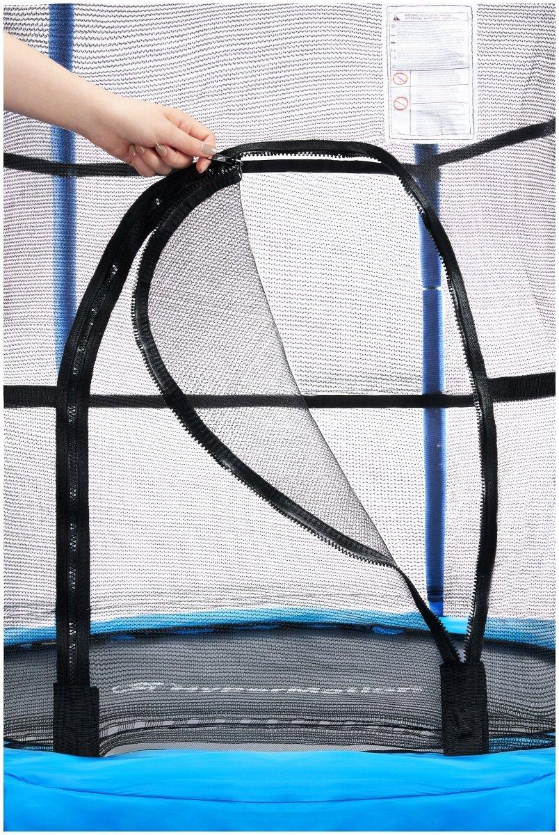 Trampolina domowa 140cm z siatką ochronną - dla dzieci 3-6 lat
