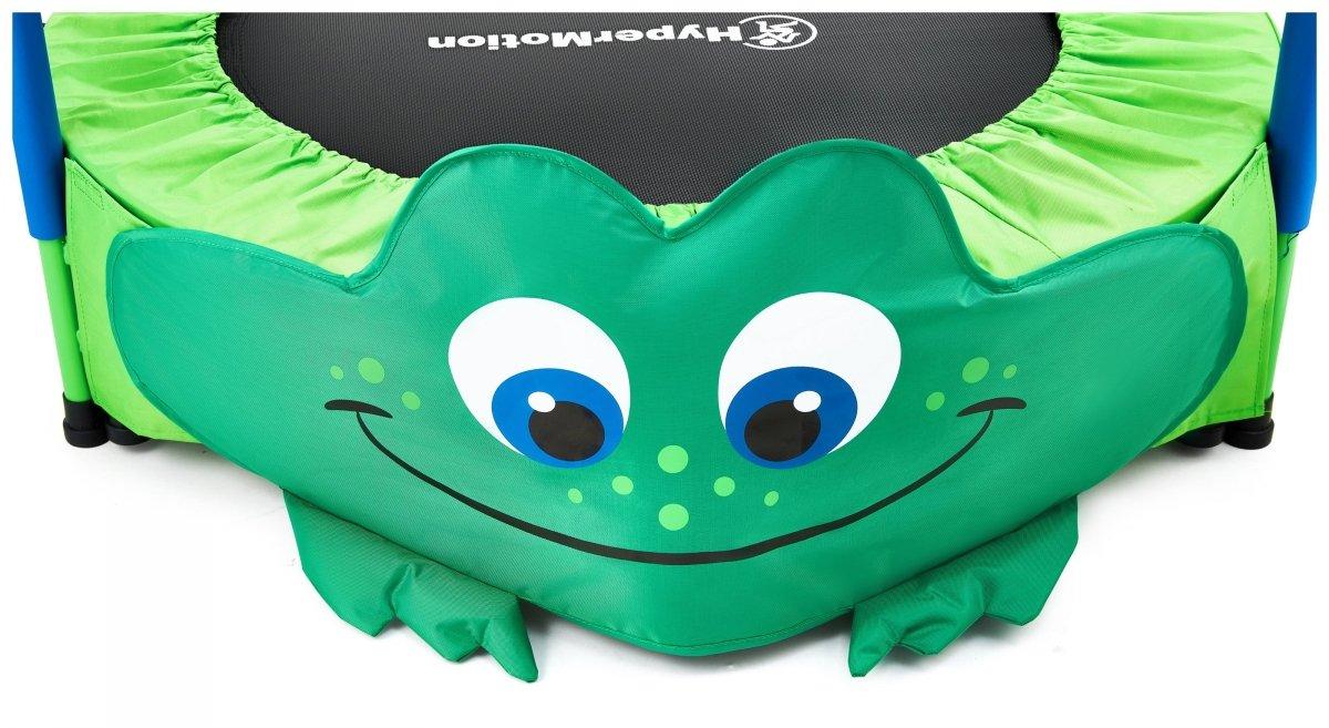 Żabka - trampolina mini dla dzieci - z rączką - 50kg max - 91cm -  do domu i ogrodu