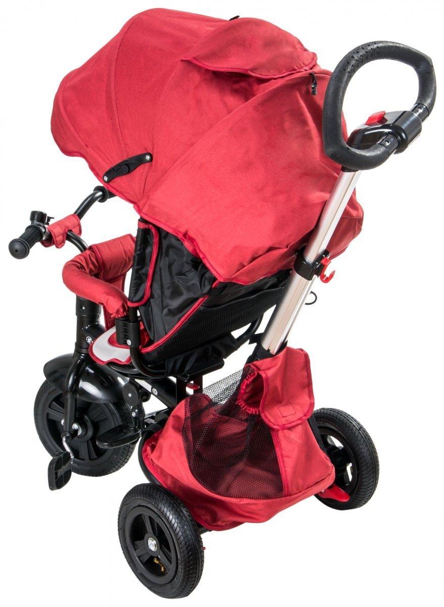 Rowerek trójkołowy Tobi Velar - czerwony