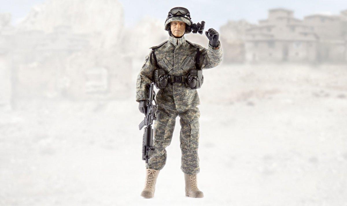 Figurka wojskowa 90200G - skala 1:6