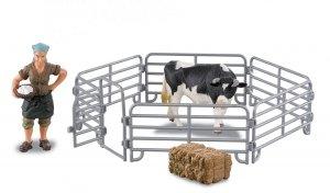 Farmee-zestaw Z02 - Gospodyni z bykiem
