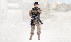 Figurka wojskowa 90200E - skala 1:6