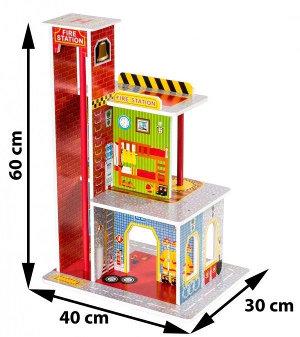 Drewniana remiza straży pożarnej Z10