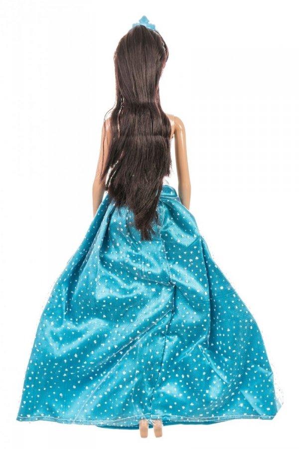 Lalka Anlily - Zimowa Księżniczka - suknia niebieska