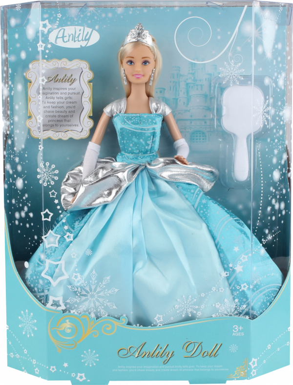Lalka Anlily - Królowa śniegu
