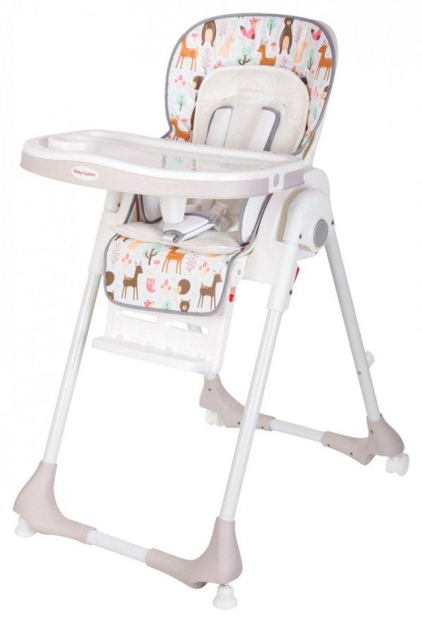 Krzesełko do karmienia DALIA - wzór LAS